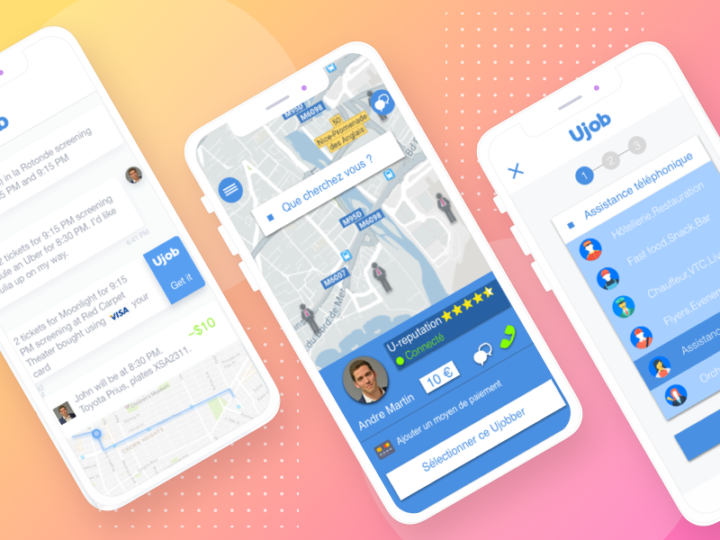 Ujob Digital Unicorn Creation d'application mobile