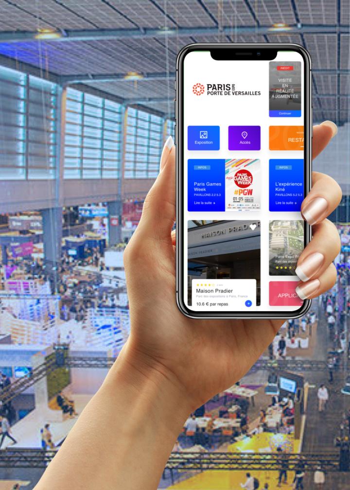 Paris Porte de versailles Digital Unicorn Création d'applications mobiles