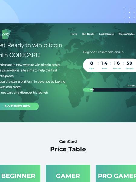 Coin card Digital Unicorn Creation d'application mobile